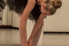 Ballerina - Pointe shoes tiedown