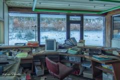 Frisdrank fabriek - Het kantoor