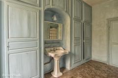 Blue bathroom - Vaal blauwe badkamer