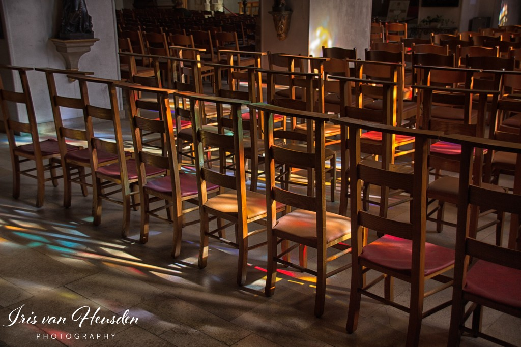 Kerk - Kleuren en Lijnen spel -03