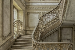 château artillery  - Magnificent stairs -2