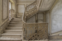 château artillery - Magnificent stairs -3