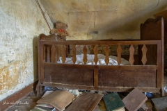 A childs bedstead -1